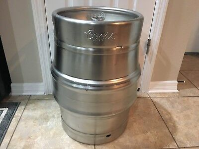 Extra Nice Cond Coors Empty Beer Keg Full Size 15.5 Gallon - Make Offer NICE KEG