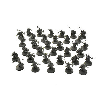 LOTR 34 Warriors of rohan Games Workshop miniatures PLASTIC