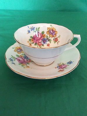 Collingwood's Bone China England Cup & Saucer