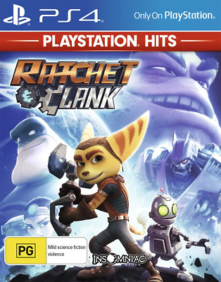 Ratchet & Clank PlayStation Hits PS4 Game NEW