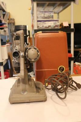 Vintage REVERE Model 85 8MM Movie Film Portable Projector with Case ~