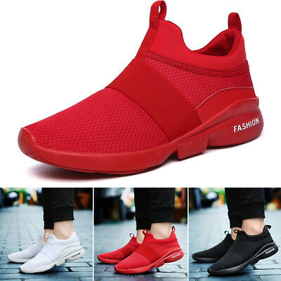 Fashion Mens Sneakers Sports Breathable Running Casual Outdoor Gym Soft Shoes