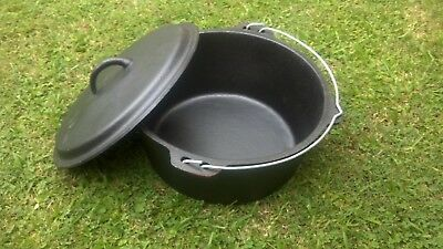 Camp Oven Cast Iron either 9kg or 12kg
