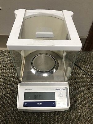 Mettler Toledo PB303-S/FACT Precision Analytical Balance Digital Scale Lab Used