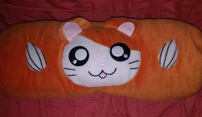 RARE! Cute Hamtaro Anime Pillow from Japan.