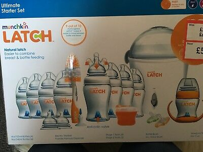 Munchkin Latch Ultimate Bottle Starter Set