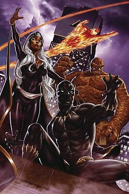 Fantastic Four #1 Mark Brooks Wraparound Variant Nm