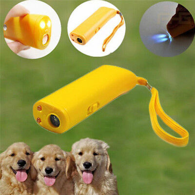 Ultrasonic Anti Stop Barking Pet Dog Train Repeller Control Trainer Device Hot