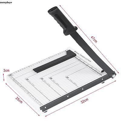 HOME Heavy Duty  Guillotine Paper Cutter Book Trimmer Machine Commercial Metal