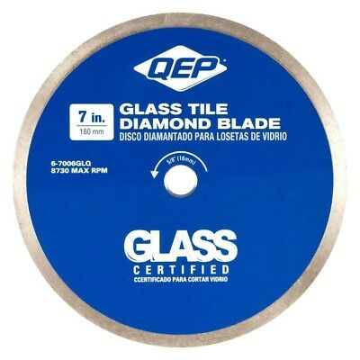 DIAMOND BLADE GLASS TILE 7 in Wet Tile Saws 7 Mm Diamond Coated Cutting Edge NEW
