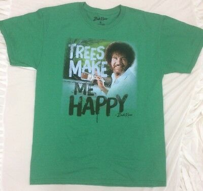 Trees Sweater Vintage Bob Ugly Little Ross Christmas Happy New T Wqh0iri