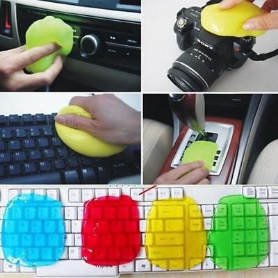 Keyboard Gel Cleaner Dust Germ Clean Cyber Putty Desk Laptop Computer Car Phone