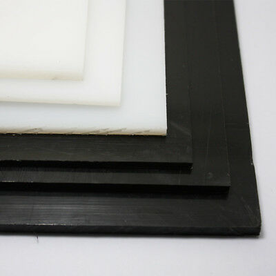 3mm 4mm 5mm HDPE Sheet Black White Polyethylene Engineering Plastic Sheet