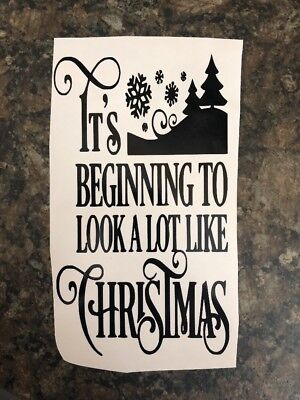 Vinyl Decal Sticker for Wine bottle diy believe in the magic of christmas
