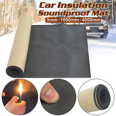 4M Roll Car Sound Proofing Deadening Motorhome Van Insulation Closed Cell Foam