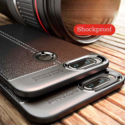 For Huawei Y6 Y7 Y9 2018 Shockproof Soft Silicone Rubber TPU Back Cover Case
