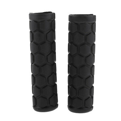 "New MTB City Fixie Bicycle Bike Thick Foam Grips 7//8/"" 130mm Black 1 Pair"