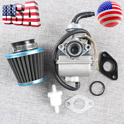 Coolster 125 cc 3125CX-3 Fully Auto Custom Carburetor Carb Stage 1-3 Jet Kit
