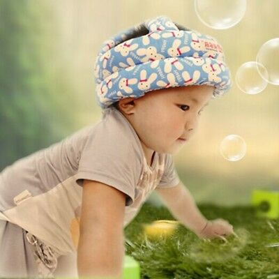 Toddler Baby Safety Helmet Head Protection Adjustable Cap for Walking Crawling