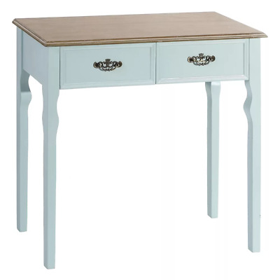 MOBILE INGRESSO CONSOLLE PROVENZALE FRANCESE CELESTE BLU SHABBY CHIC Mobili