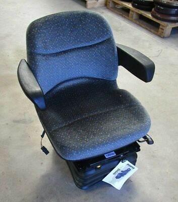 Tractor Air Seat Fabric Cushions Manual Height Adjustment