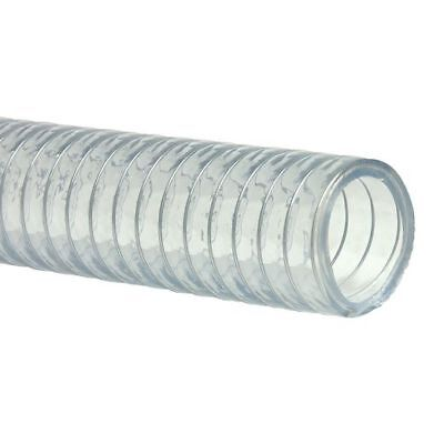 Wire Pvc Reinforced Suction & Delivery Hose - Steel Spiral Helix Various Sizes