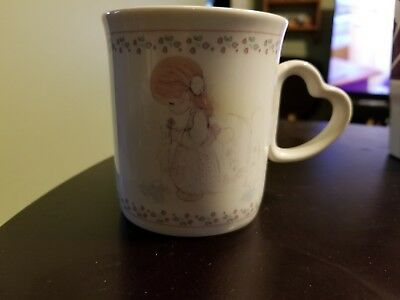 1991 Precious Moments Coffee Mug With Love To You Inside Cup Used