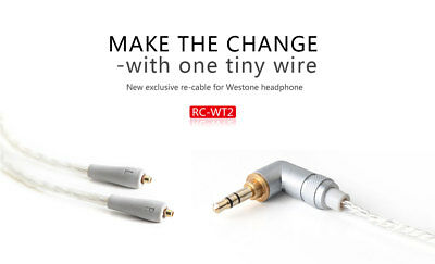 FiiO RC-WT2 Silver Plated Cable for selected Westone Earphones