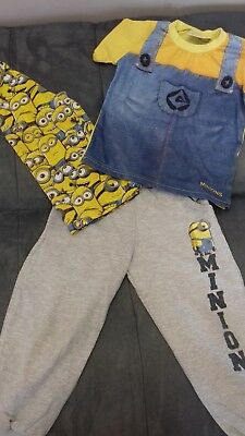 boys clothes 4 years bundle MINIONS