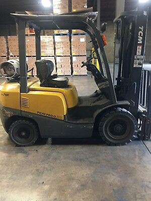 Tcm Forklift, Low Hours, Very Nice Condition, Side-Shift, Lp