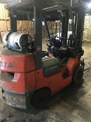 Toyota Model 7Fgu25, Lp, Side-Shift, Good Condition, Regularly Maintained