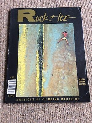 # 50 Rock & Ice Special Gold Edition Mountaineering Rock Climbing Magazine