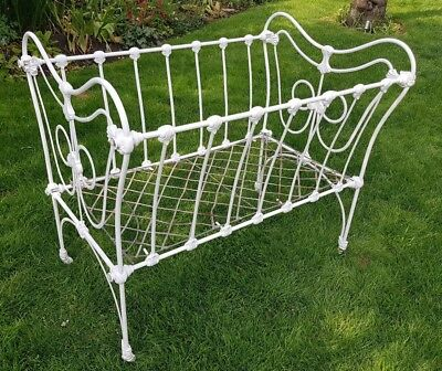 Victorian Wrought Iron Cot