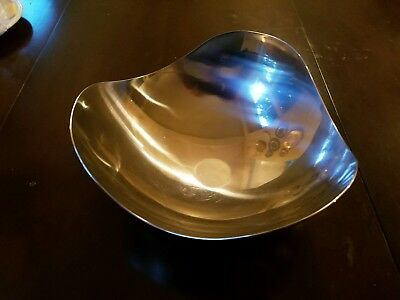 "Georg Jensen ""Bloom"" Bowl  Stainless Steel Made in Denmark"