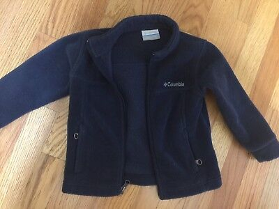 Toddler Columbia Fleece Jacket Size 3t