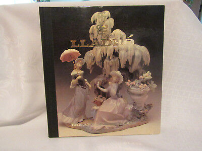 """Lladro Book """" The Art of Porcelain """" 197 Pages Hard Cover Exc Cond"""