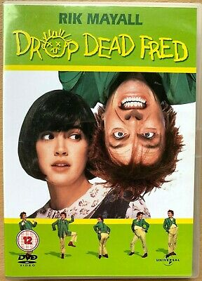 Drop Dead Fred DVD 1991 Cult Imaginary Friend Comedy with Rik Mayall