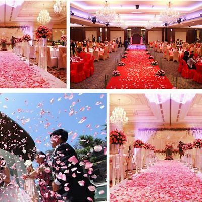 200 /500/ 1000PCS Silk Rose Petals Artificial Flowers Wedding Decoration