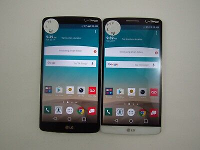 Lot of 2 Cracked LG G3 VS985 Verizon Check IMEI 5CR 866