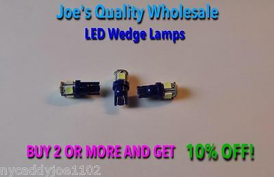 (3)Wedge Base-8V Cool Blue-Led Lamp/vintage -Dial/meter/sx-880/sx780-Sx 580 680