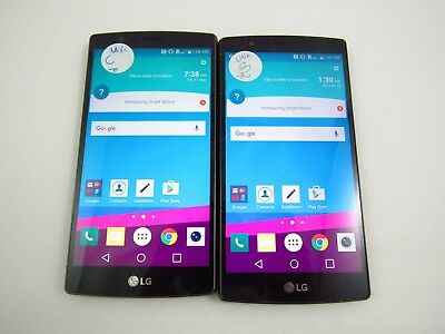 Lot of 2 LG G4 US991 Unknown Check IMEI Grade B/C 3-439