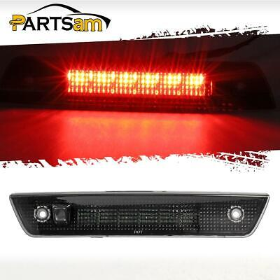 For 2005-2010 Jeep Grand Cherokee Red High Mount 3rd Brake Light Stop Lamp Smoke