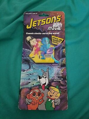 Rare Jetsons The Movie Cosmic Clocks 1990 NIP vintage collectible