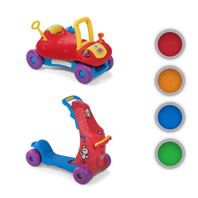 Ride On Toy 2in1 Child Car Activity Walker Children Push Along Scooter Baby Vivo