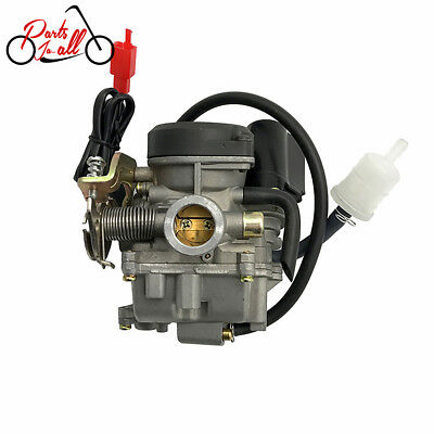 PD18J Carburetor for GY6 49cc 50cc Scooter Moped Go Kart ATV Roketa Sunl