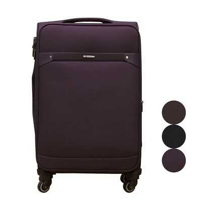 Travel Luggage Rolling Business Suitcase 20 24inch Upright