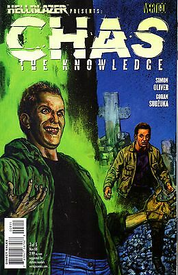 Hellblazer Presents: Chas The Knowledge Comic 3 DC Vertigo 2008 Oliver Sudzuka