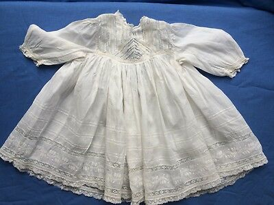 Beautiful Antique Vintage Baby's or Doll's Dress (No. 3)