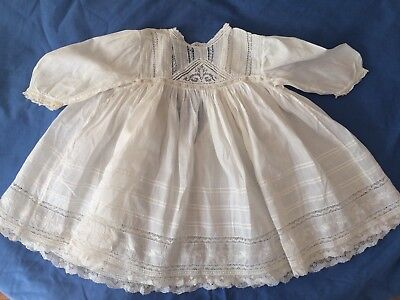 Beautiful Antique Vintage Baby's or Doll's Dress (No. 4)