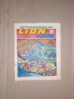 Lion issue dated May 4 1974